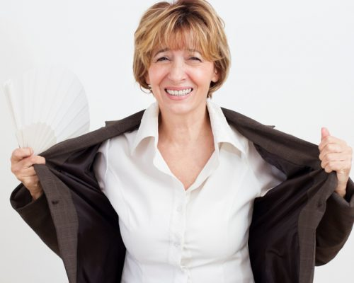 hot flashes menopause women cardiovascular risk