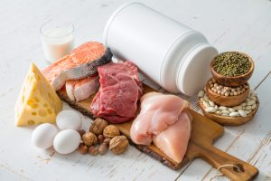 High protein foods boost cardiovascular health by reducing blood pressure and arterial stiffness