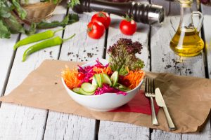 LDL cholesterol lowered with vegan mediterranean diet in men