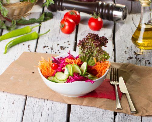 LDL cholesterol lowered with vegan mediterranean diet in men