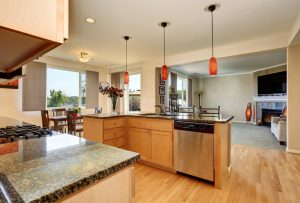Open-concept floor plans promote overeating