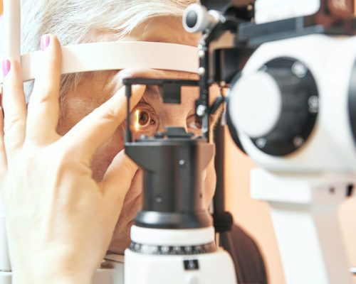 rapid eye movement delayed in glaucoma