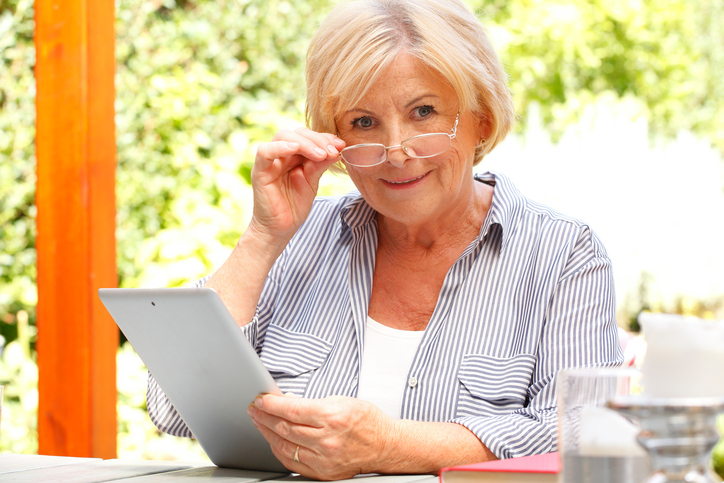 reading difficulties in glaucoma patients