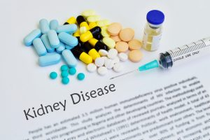 kidney function in diabetes
