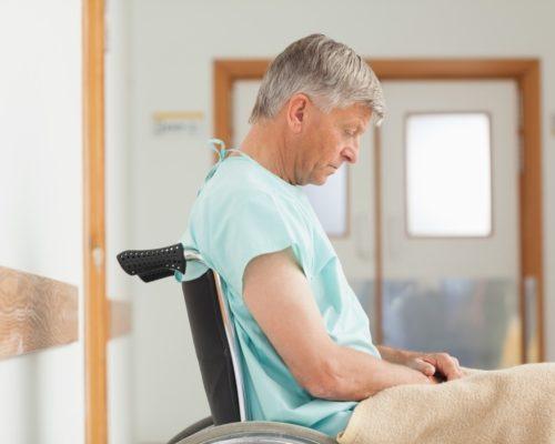 Stroke complications in elderly