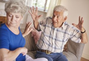 dementia and aggressive behavior