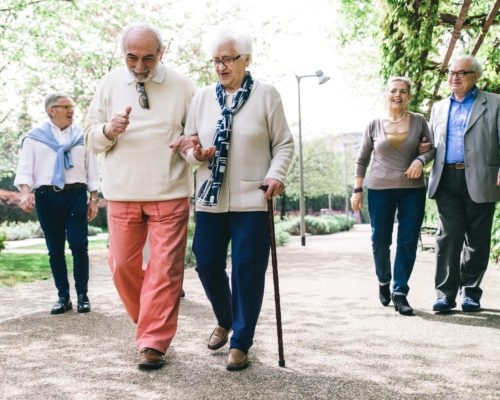 Benefits of walking to lower diabetes and blood pressure