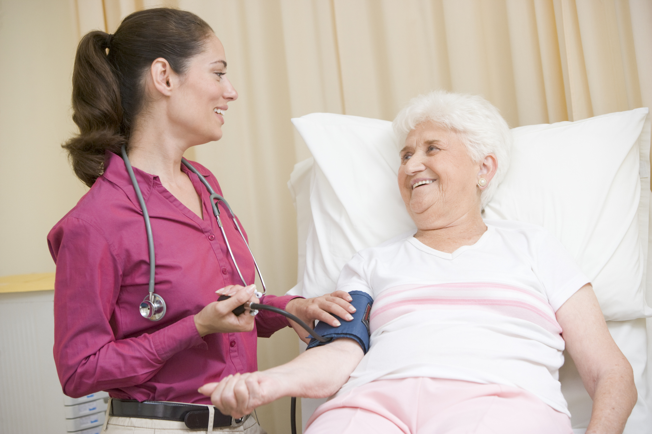 high resting rate and blood pressure
