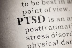 Post-traumatic stress disorder (PTSD):