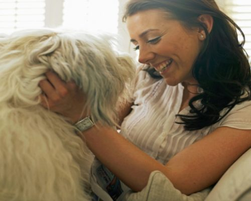 Pets can help manage mental illness