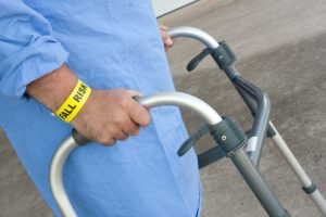 Brain activity in older adults measured while walking and talking may predict the risk of falls