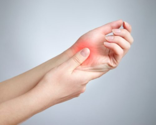 Thumb and joint and pain