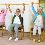 Osteoarthritis pain in older adults can be managed with chair yoga