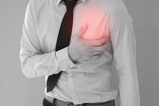 Chest pain that comes and goes for days