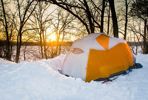 Go camping to get a better sleep