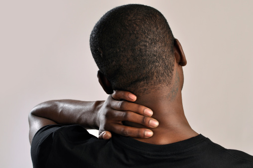 Headache in back of head