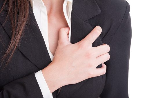 Heart attack symptoms in women over 50