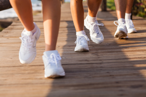 Walking improves quality of life in those with advanced cancer