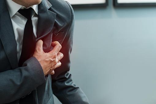 Mild heart attack