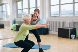 strong thighs osteoarthritis in women