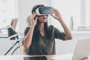 virtual reality technologymay be useful in treating mental health issues