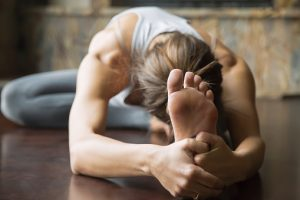 Yoga positions to relieve gas