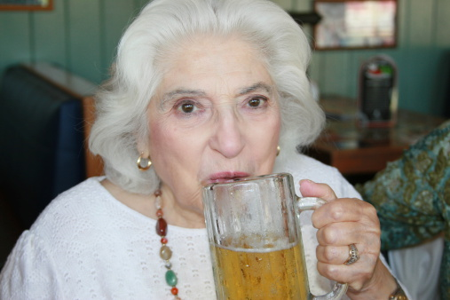 Binge drinking increasing in older women