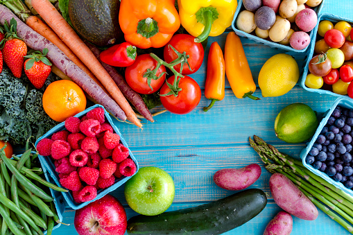more fruits and vegetables