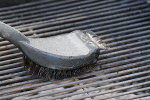 bbq danger metal brushes