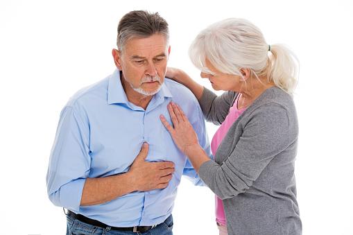 chest pain sensitivity