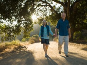Walking increases blood circulation to the brain