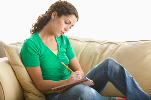 Writing a story about your divorce aids in recovery