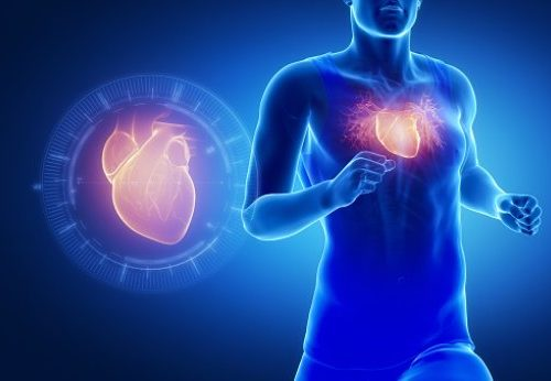 Mild cardiomegaly
