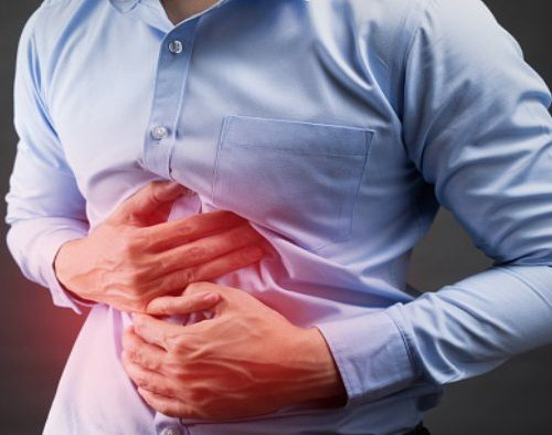 Lower abdominal pain in men