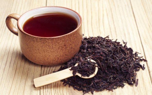 Drinking black tea before flu