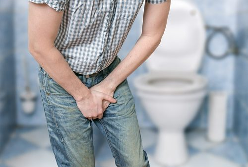 Medical condintion pressure after peeing