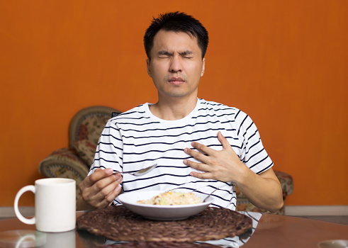 how long should acid reflux last