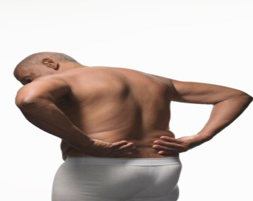 burning back pain