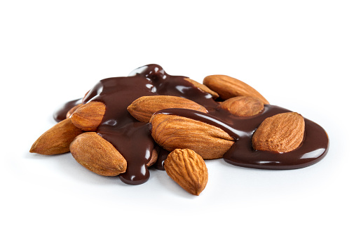 combining almonds