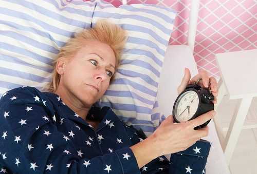 Menopause sleep problems
