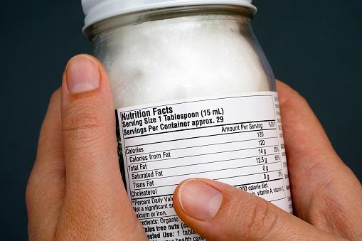 nutritonal labels