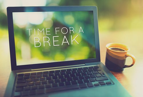 study finds that length of break matters