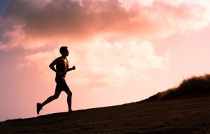 back pain running
