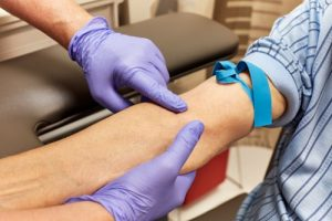 Heart disease risk blood test
