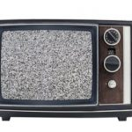 television-like static in your vision
