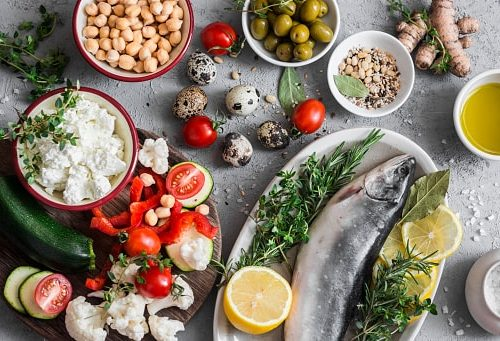 Mediterranean diet anti-aging