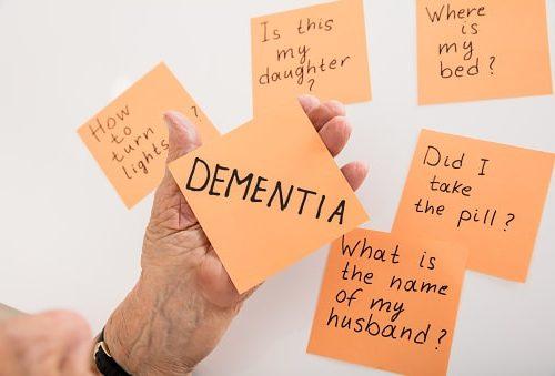 dementia signs in elderly