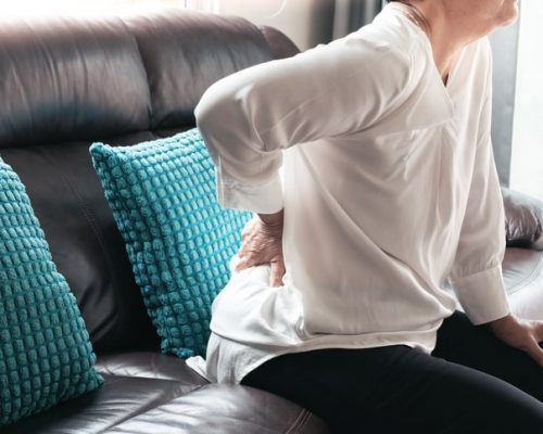 Low back pain in elderly can be