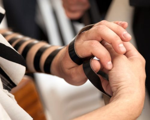 tefillin heart health