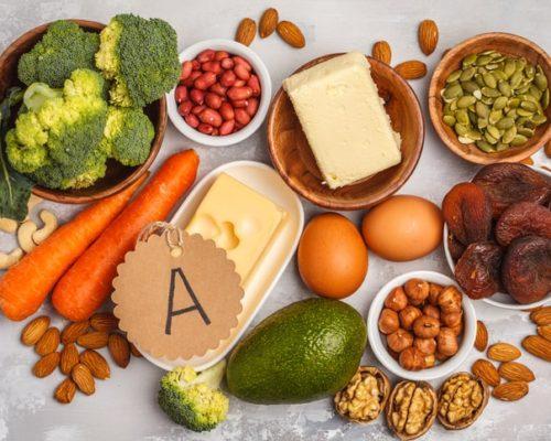 vitamin A bone fracture